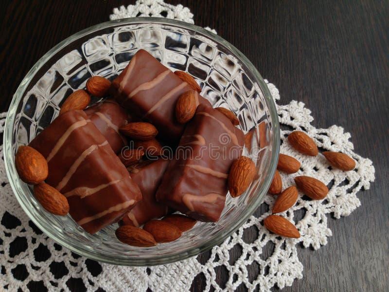 Chocolates. stock images