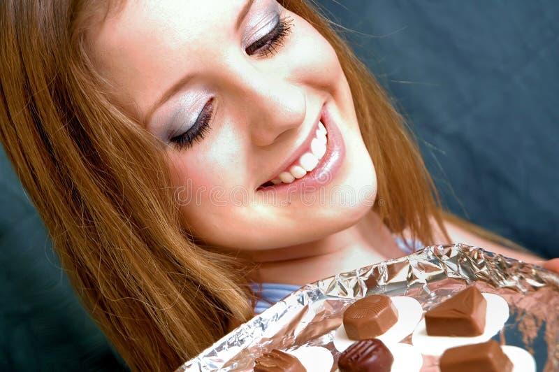 Chocolates2 royalty-vrije stock foto