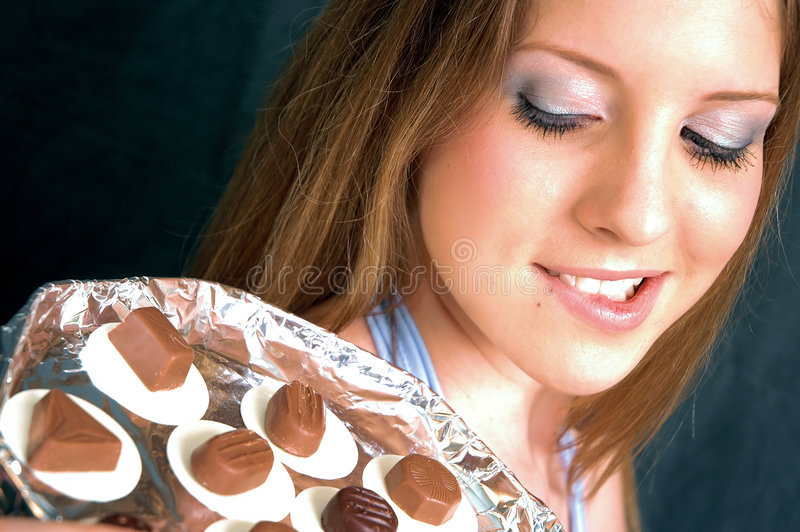 Chocolates3 images stock