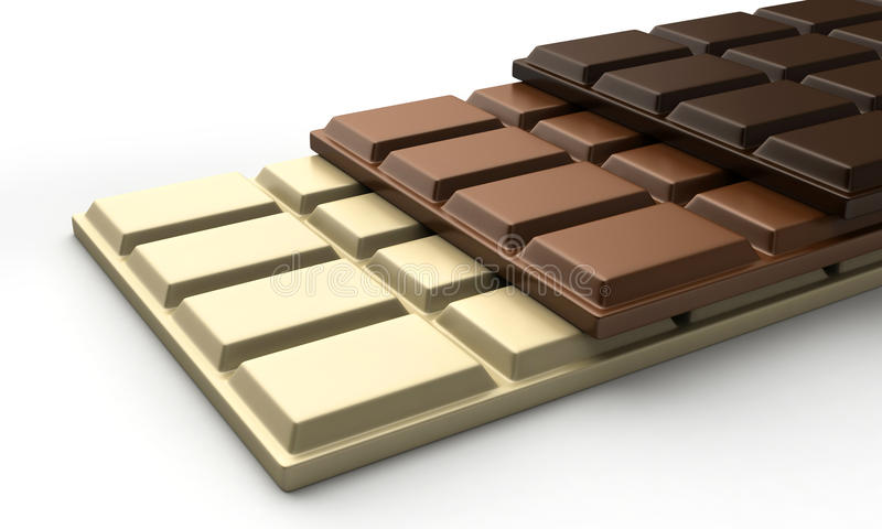 Chocolats illustration de vecteur