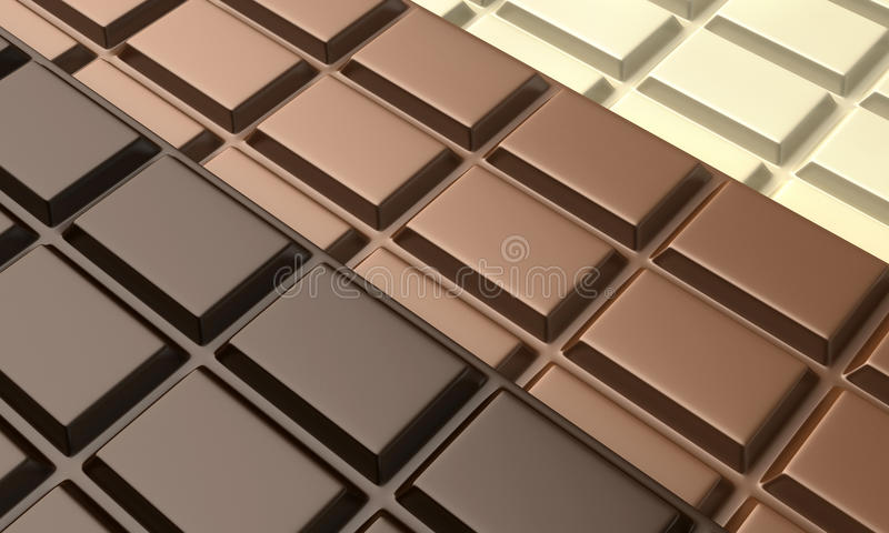 Chocolats illustration stock
