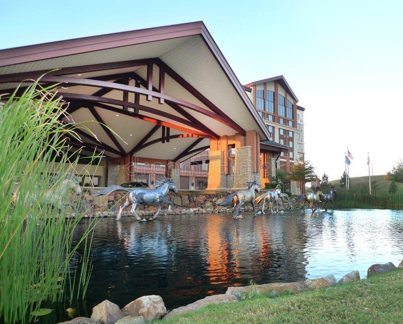 Choctaw-Kasino und Hotel, Pocola, Oklahoma-Äußeres stockfotos