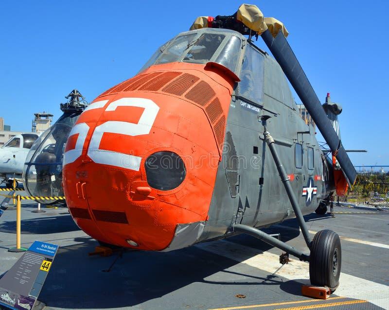 Choctaw/Seabat/cavalo marinho de Sikorsky H-34 fotografia de stock