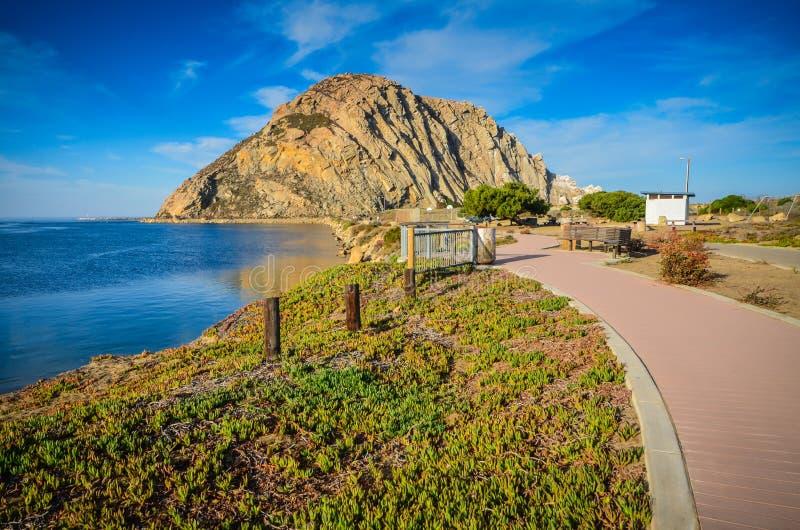 Chodząca ścieżka Kalifornia - Morro skała - fotografia royalty free