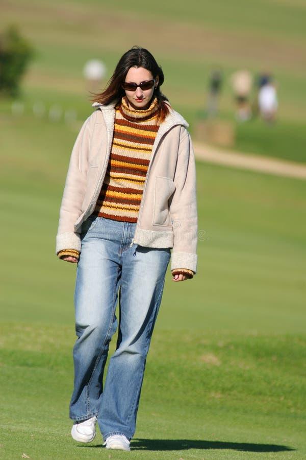 chodzenie trawy zdjęcie stock