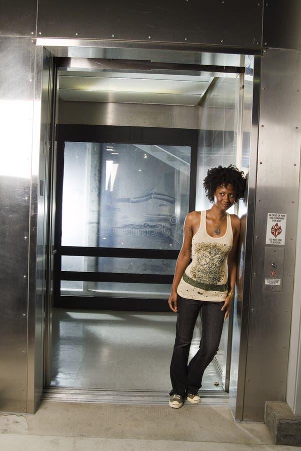 Chodzić z windy 02 zdjęcia royalty free