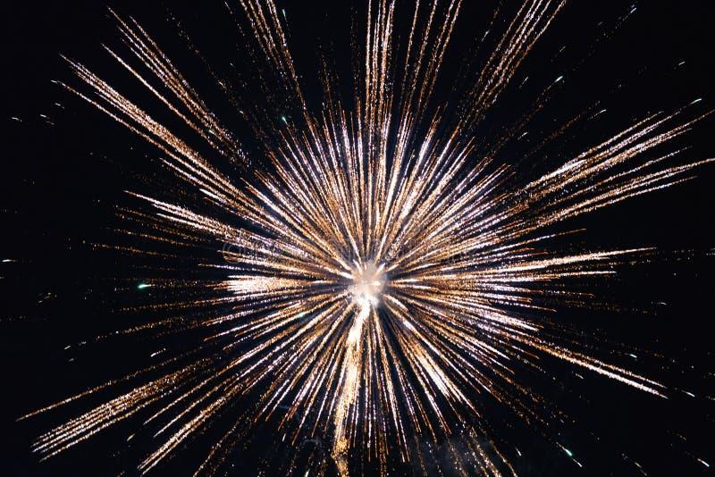 Chofu Autumn Fireworks Festival 2018 royalty-vrije stock foto