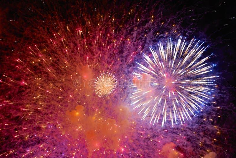 Chofu Autumn Fireworks Festival 2018 image libre de droits