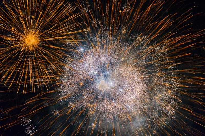 Chofu Autumn Fireworks Festival 2018 lizenzfreies stockfoto