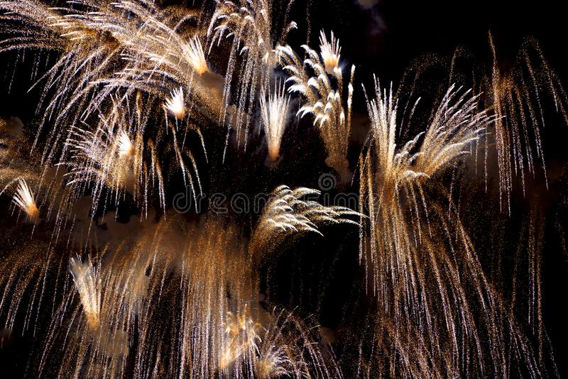 Chofu Autumn Fireworks Festival 2018 stock images