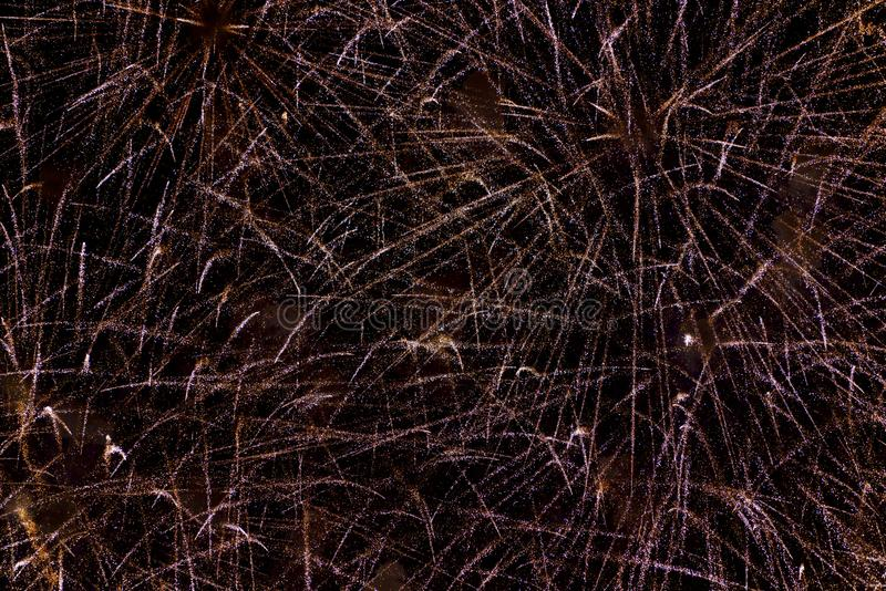 Chofu Autumn Fireworks Festival 2018 stock image