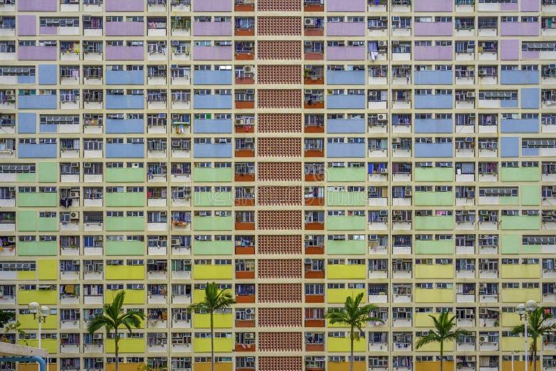 Choi Hung Estate, Hong Kong stock photo