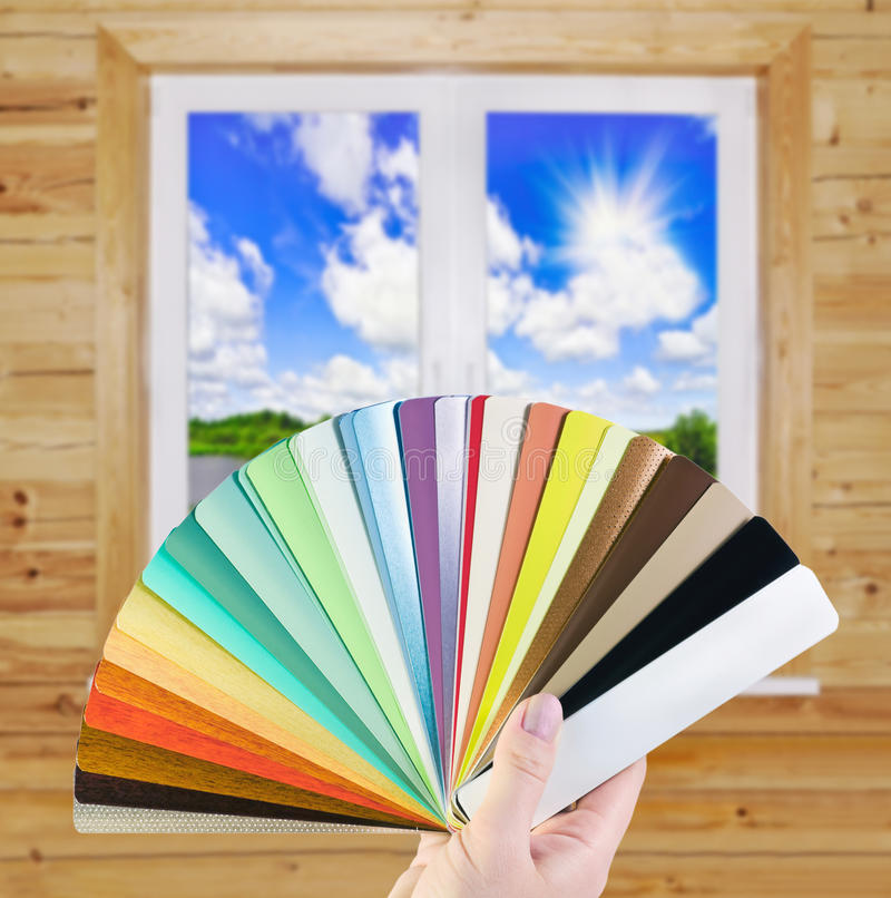 Choice of blinds stock photography