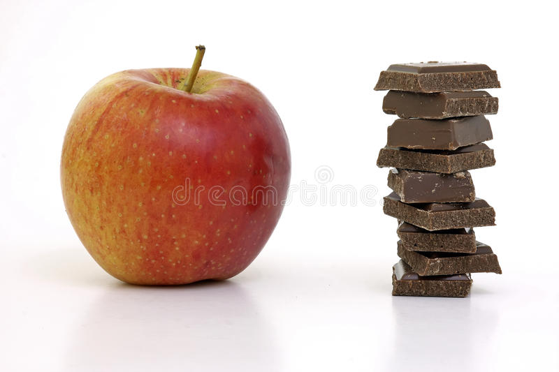The Choice Is Difficult Royalty Free Stock Photo