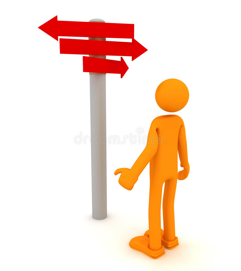 Download Choice And Directions Signs Stock Illustration - Image: 16649203