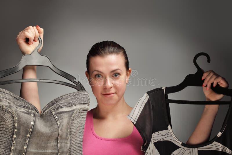 Choice Kläder Fotografering för Bildbyråer