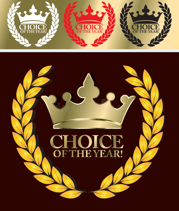 Download Choice of the year stock vector. Image of market, promotion - 22458919