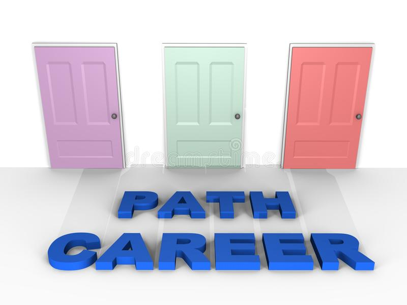 A choice for your career - a 3d image