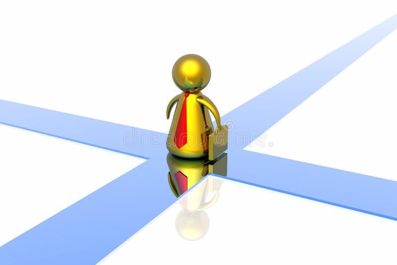 Download Choise of correct decision stock illustration. Illustration of inspiration - 4415718