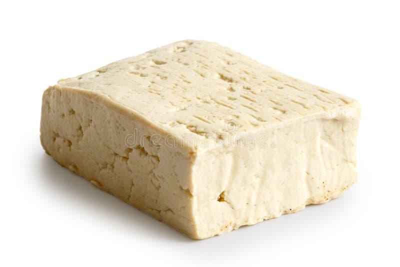 Choisissez le bloc de tofu blanc photographie stock