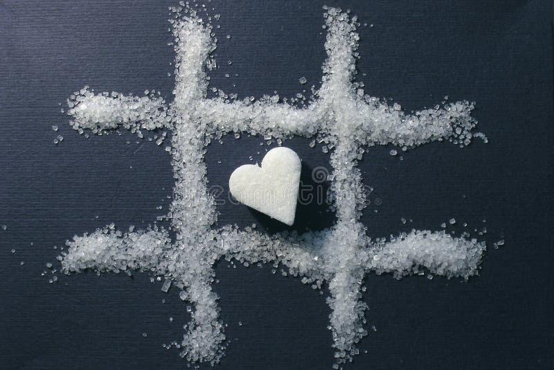 Choisissez Le Coeur Image stock