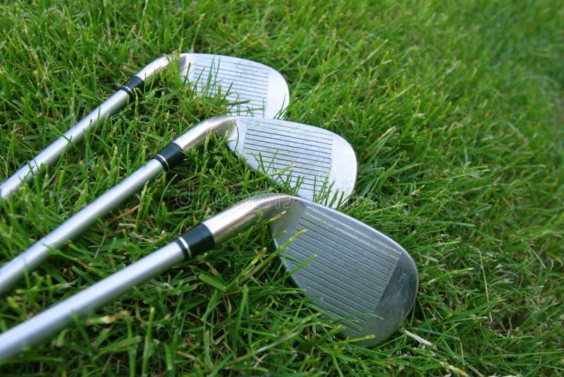 Choix de club de golf images stock