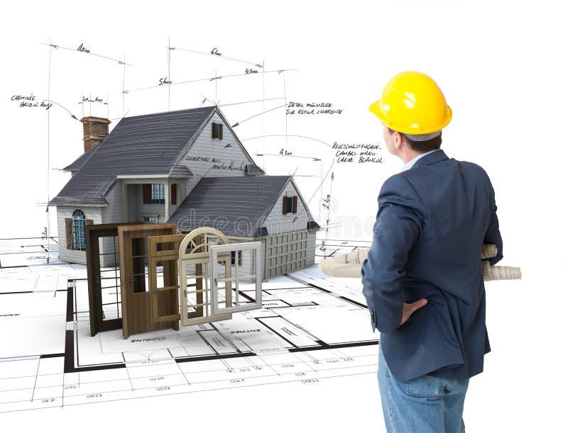 Choix de construction image libre de droits