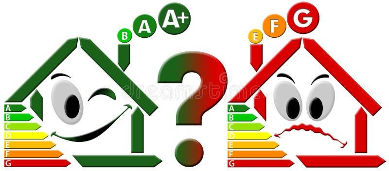 Choix de l'économie d'énergie illustration de vecteur