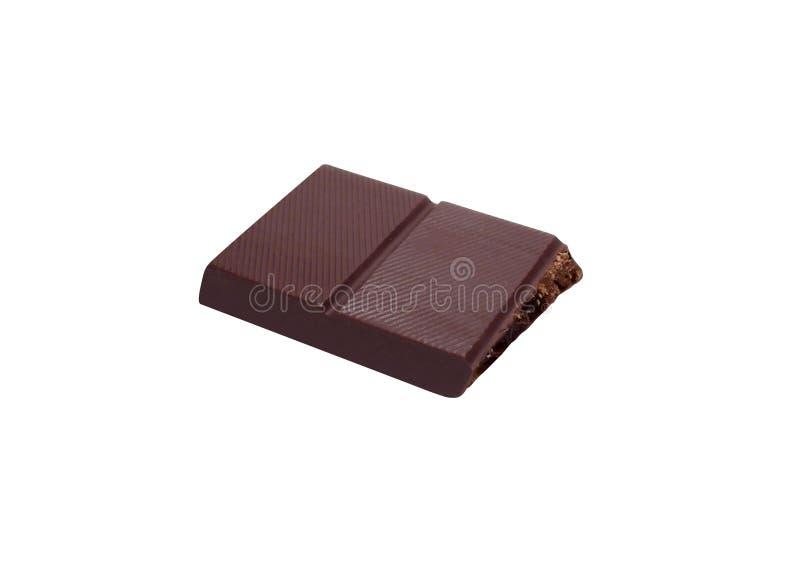 Choklad bommar för isolerat på vit arkivbilder