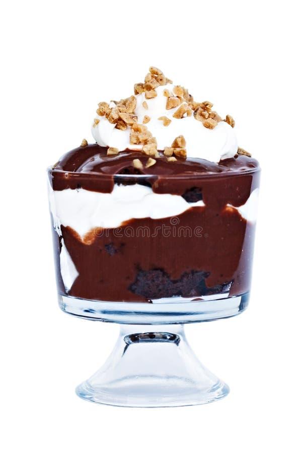 choklad förspiller tiden royaltyfri foto