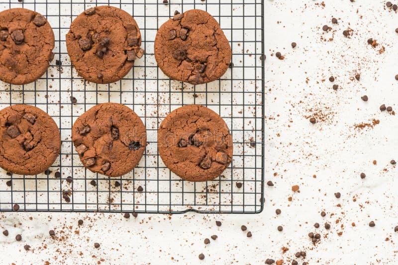 Download Choklad kaka arkivfoto. Bild av closeup, mellanmål, objekt - 106826058