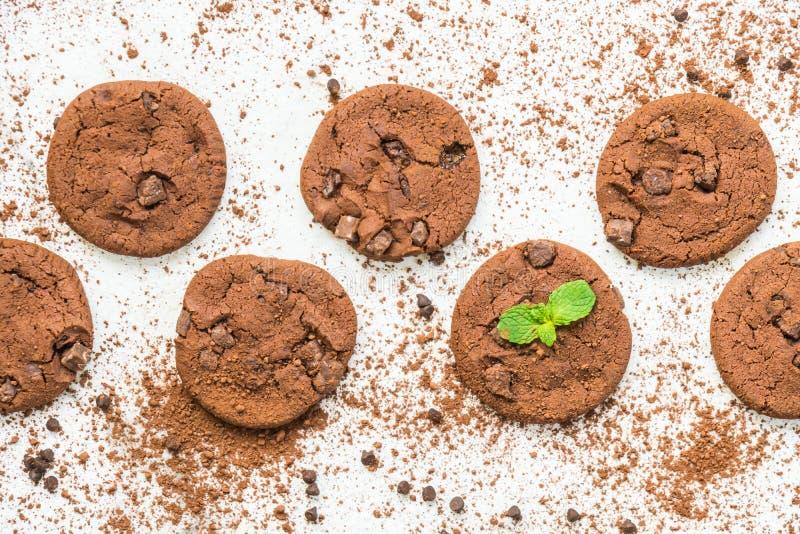 Download Choklad kaka fotografering för bildbyråer. Bild av kopia - 106838553