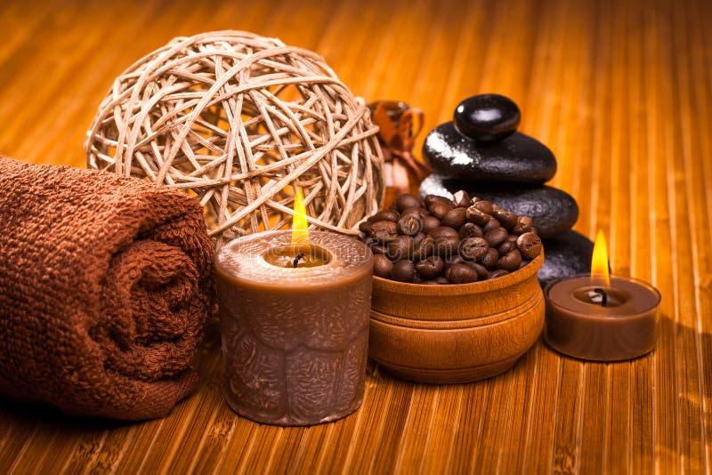 Choklad Spa royaltyfri foto