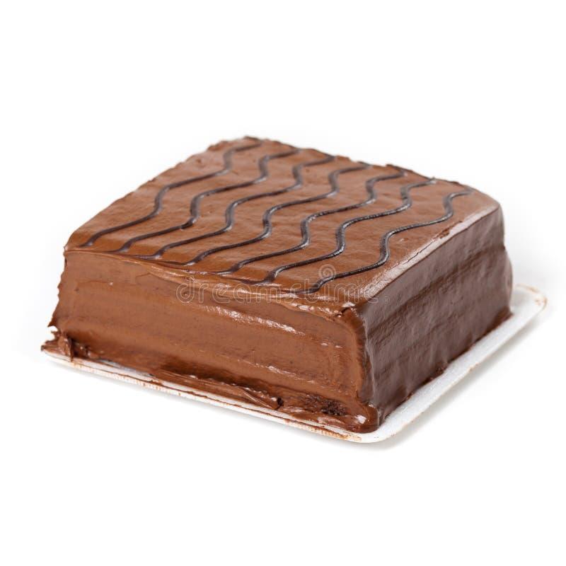 Chokladarkkaka arkivfoto