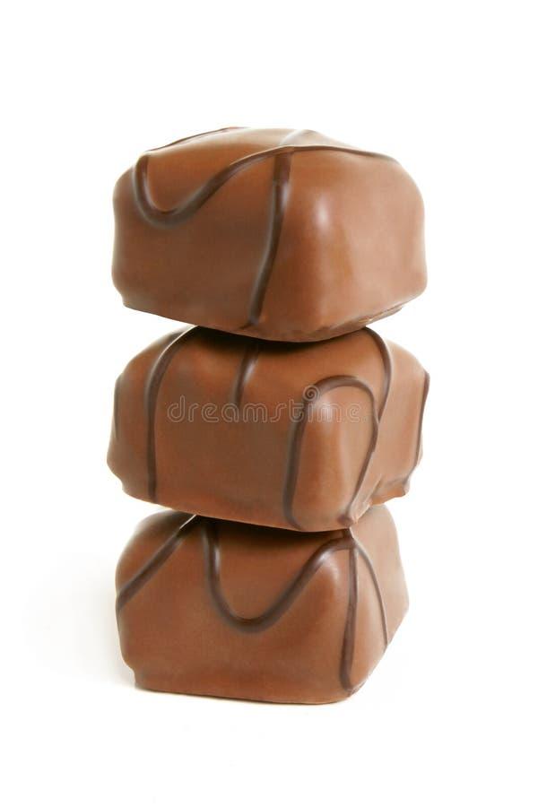 chokladbuntsötsaker royaltyfri foto