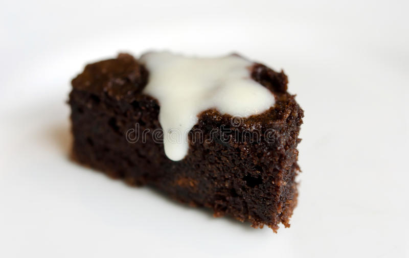 Download Chokladcake fotografering för bildbyråer. Bild av mörkt - 27275203