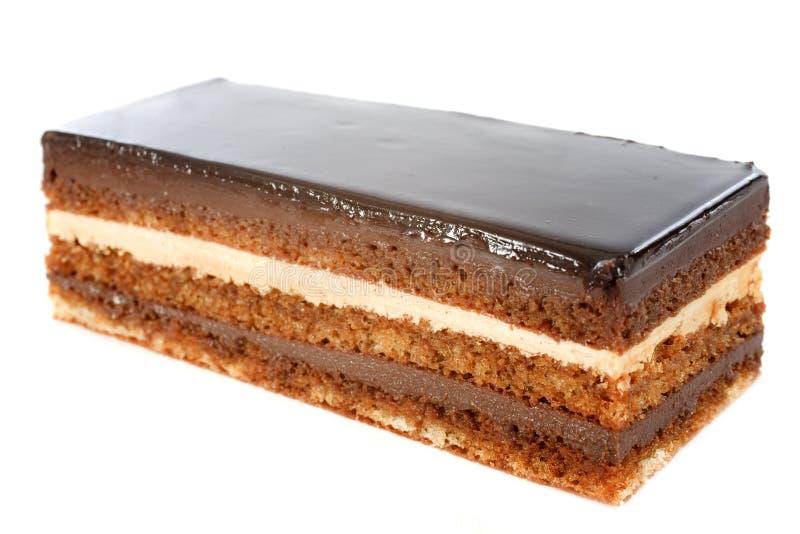 Chokladcake royaltyfri foto