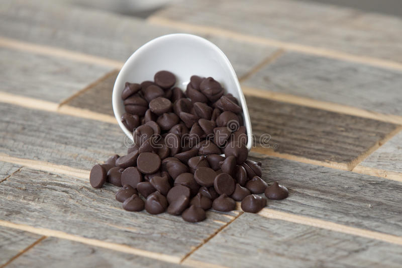 Chokladchiper royaltyfria foton