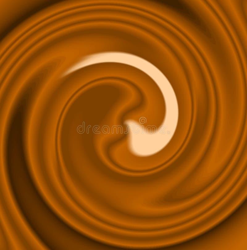 chokladdrink royaltyfri fotografi