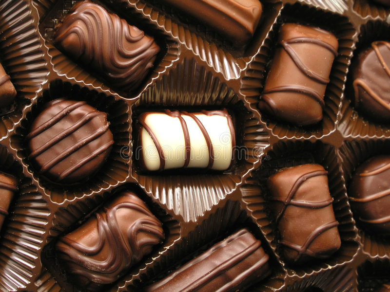choklader royaltyfri bild
