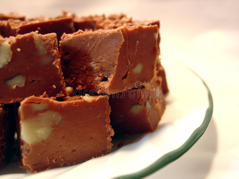 chokladfuskverk royaltyfria bilder