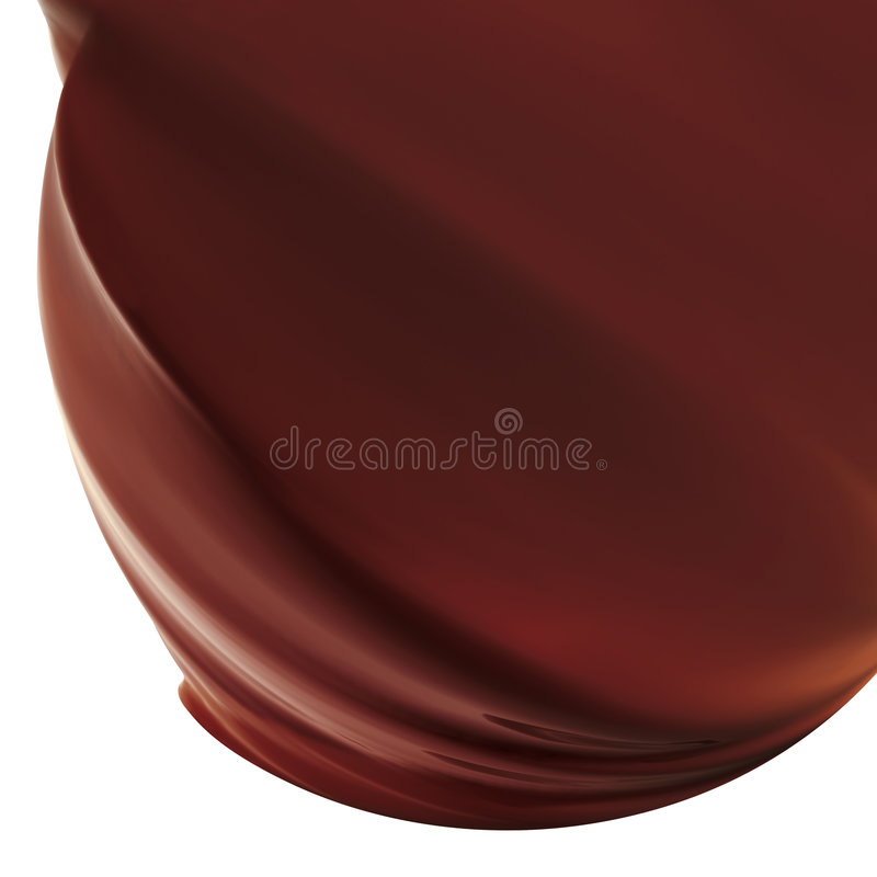 chokladisläggning royaltyfri bild