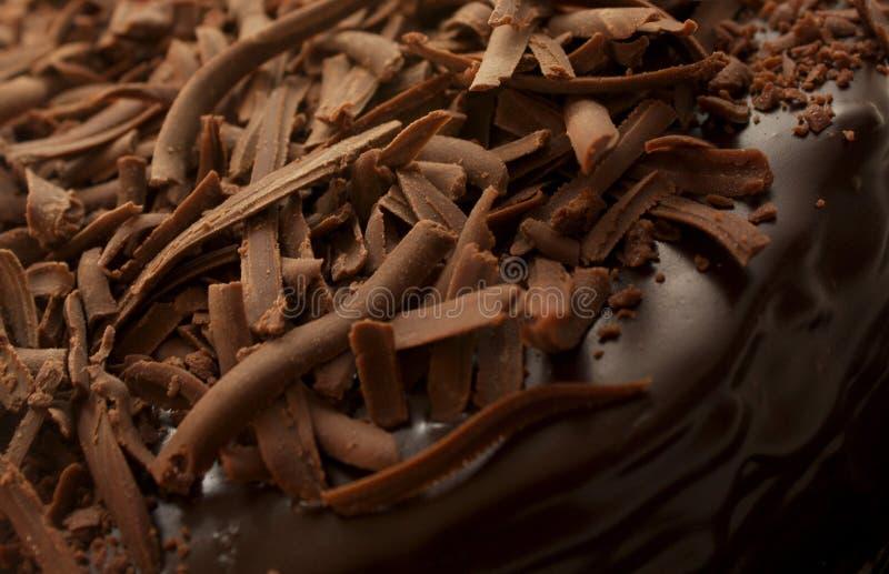 Chokladkaka royaltyfria foton