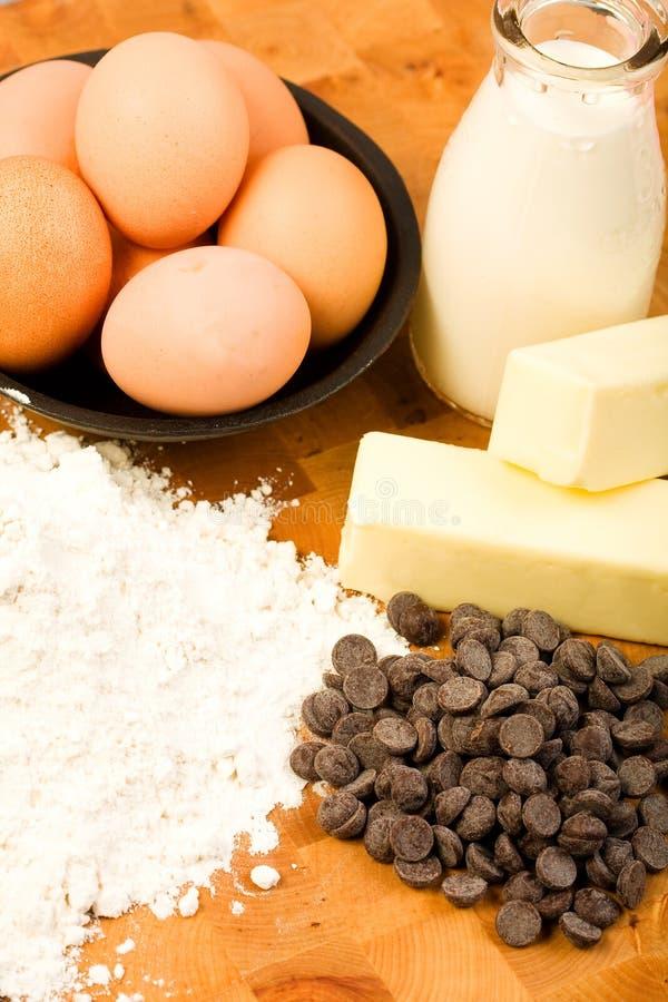 chokladmatlagning fotografering för bildbyråer