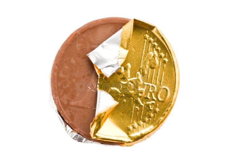 chokladmynt royaltyfri bild