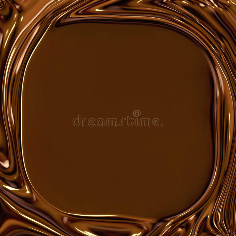 chokladramswirls stock illustrationer