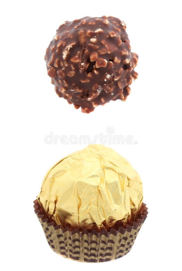 chokolate甜点 免版税库存图片