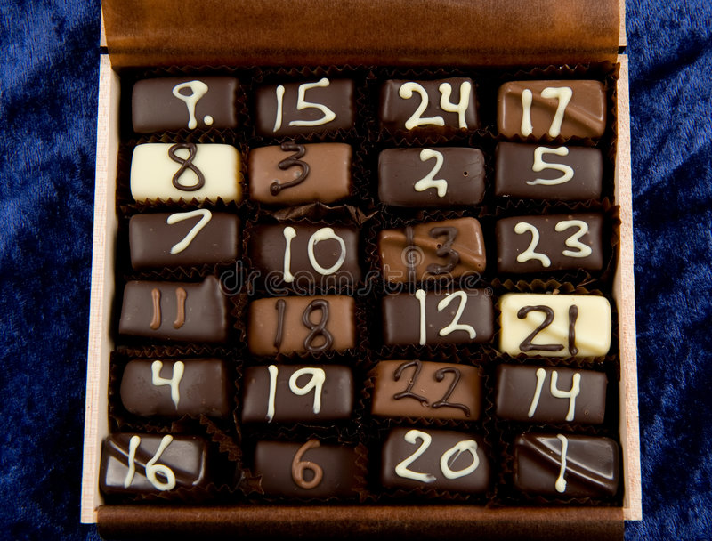 Download Chokolate hecho a mano foto de archivo. Imagen de caramelo - 7282002