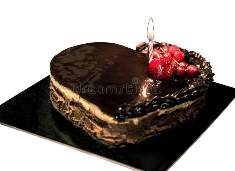 chokolate kuchen mit frucht stockfoto bild von. Black Bedroom Furniture Sets. Home Design Ideas