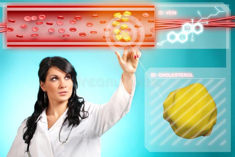 cholesterol arkivfoton